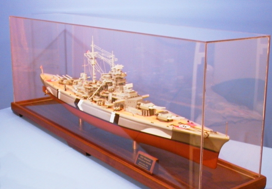 1/200th Scale German Bismarck Model
