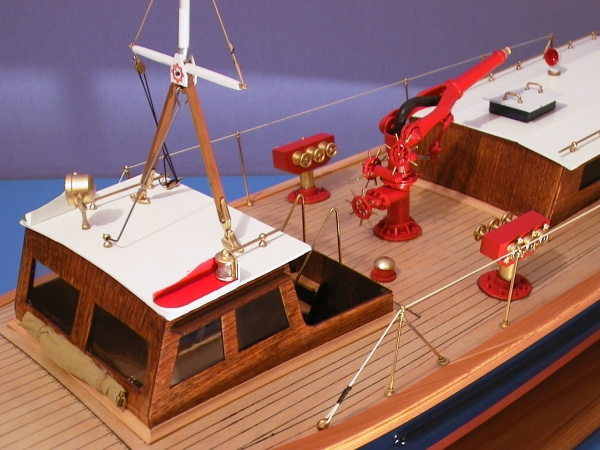 Circa 1930 London Fire Boat Models