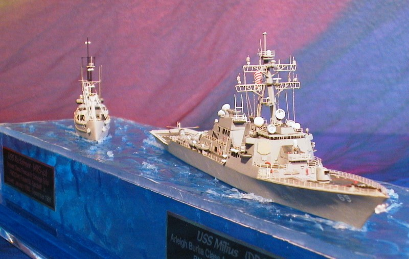 Waterline Warship Models