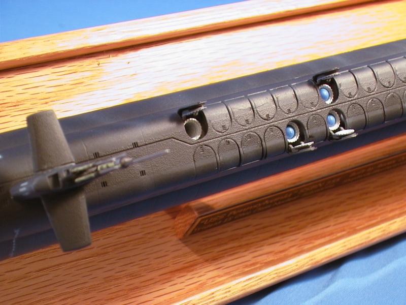 Uss pennsylvania ssbn 735 model
