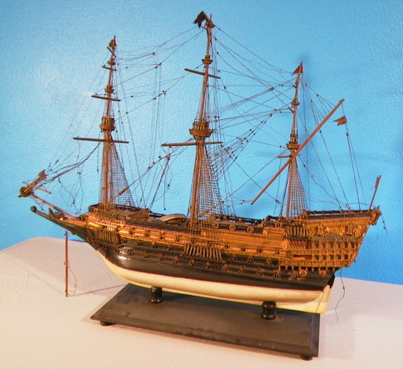 Antique Tall Ship Models Restored