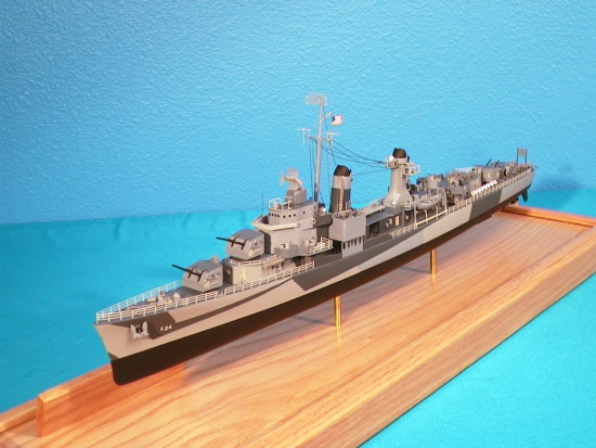 WWII Mine Layer Destroyer Model
