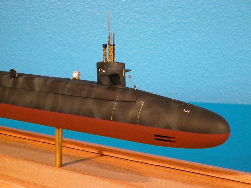 USS Tennessee 1/350th Scale Model