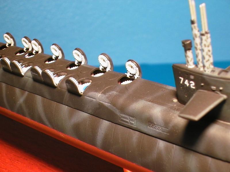 Submarine model uss wyoming ssbn 742