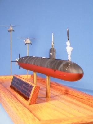 USS Cheyenne SSN 773 Improved Los Angeles Class Submarine Model